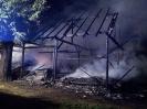 Pożar budynku gospodarczego Strumień ul.Polna - 10.08.14r.