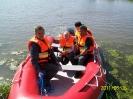 Wodowanie pontonu 2011